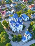 St. George`s Cathedral, the city of Kamenets Podolsk royalty free stock image