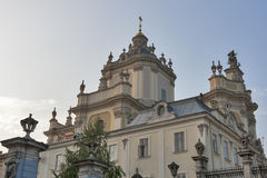 St. George's Cathedral, Lviv Royalty Free Stock Image