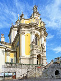 St. George's Cathedral in Lviv Stock Images