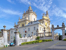 St. George's Cathedral in Lviv Stock Photography