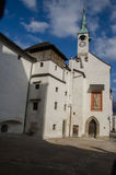 St. George's Chape at Hohensalzburg Castle, Salzburg, Austria Royalty Free Stock Photography