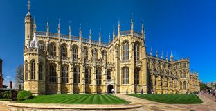 St. George`s Chapel at Windsor Castle. England Stock Images