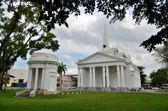 St. George`s Church. In George Town, Penang, Malaysia Royalty Free Stock Photo