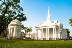 St. George's Church - George Town, Penang, Malaysia ,photo was t Royalty Free Stock Photo