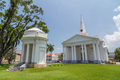 St. George's Church in Georgetown, Penang,  Malaysia Royalty Free Stock Photography