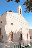 St. George's Church in Madaba. Jordan Stock Image