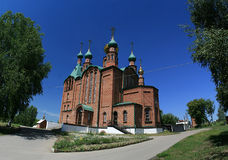 St. George's Church in Novoaltajsk, Altai Territor Royalty Free Stock Photos