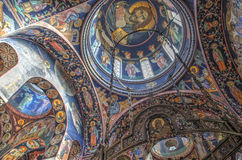 St George's Church at Oplenac, Serbia Royalty Free Stock Photography