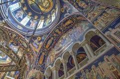 St George's Church at Oplenac, Serbia stock photo