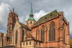 St. George`s Church, Selestat, Alsace, France Stock Photos