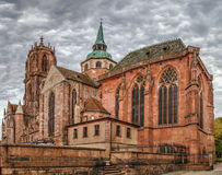 St. George`s Church, Selestat, Alsace, France Stock Photo