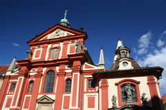 St George's Convent, Prague Castle, Prague. St George's Convent - the first convent in Bohemia royalty free stock images