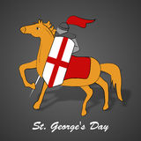 St George`s Day background Royalty Free Stock Photography