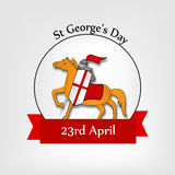 St George`s Day background Royalty Free Stock Image