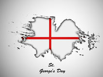 St George`s Day background Royalty Free Stock Images