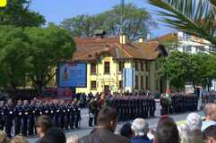St. George's Day Parade in Varna,Bulgaria Stock Photography