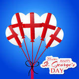 St George's Day. Vector illustration of a background for St George's Day Stock Photography
