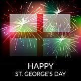 St George's Day. Vector illustration of a background for St George's Day Royalty Free Stock Images