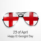 St George's Day. Vector illustration of a background for St George's Day Royalty Free Stock Photo