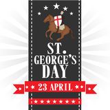 St George's Day. Vector illustration of a background for St George's Day Royalty Free Stock Image