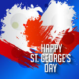 St George's Day. Vector illustration of a background for St George's Day Stock Image