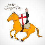 St George's Day. Vector illustration of a background for St George's Day Royalty Free Stock Photos