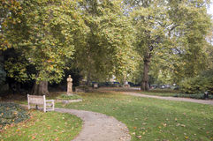 St George's Gardens, Bloomsbury Stock Photos