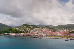 St. George's, Grenada W.I. Royalty Free Stock Photography