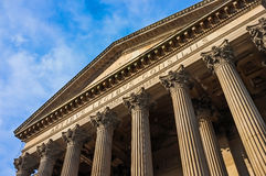 St. George's Hall architecture, Liverpool, UK. Stock Photography