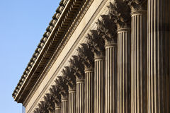 St. George's Hall in Liverpool Stock Photography