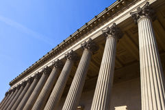 St. George's Hall in Liverpool Royalty Free Stock Photo