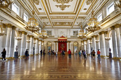 St George's Hall (referred to as Great Throne Room) Stock Image