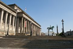 St George`s Hall, Liverpool, UK stock image