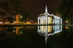 St George s kyrka George Town arkivbilder