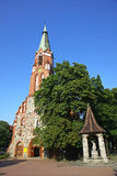 St.George's Roman Catholic Church in Sopot Stock Photo