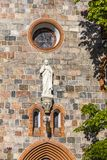 St.George`s Roman Catholic Church in Sopot, Poland. Details of St.George`s Roman Catholic Church in Sopot. Built in 1899-1901 in Neo Gothic style. Is a one of Royalty Free Stock Image