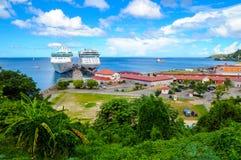 St George s schronienie w Grenada Fotografia Stock