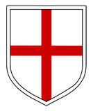 St George's Shield Royalty Free Stock Photo