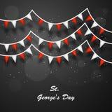 St- George` s Tageshintergrund Lizenzfreies Stockfoto