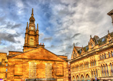 St. George's Tron Parish Church in Glasgow. Scotland stock image