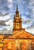 St. George's Tron Parish Church in Glasgow Royalty Free Stock Photography