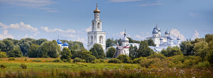 The St. George's (Yuriev) Monastery Royalty Free Stock Photo