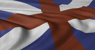 St George and Saint Andrew flag Royalty Free Stock Photography