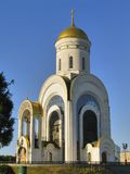 St. George temple on Poklonnaya hill Stock Images