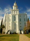 St. George Utah LDS Temple stock photography
