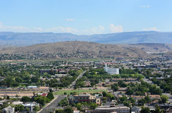 St George Utah Overview Stock Images