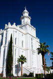 St. George Utah Temple Stock Photos