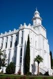 St. George Utah Temple Stock Photography