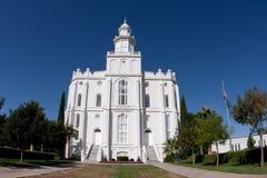St. George Utah Temple Royalty Free Stock Image