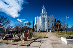 St George Utah Temple Stock Foto